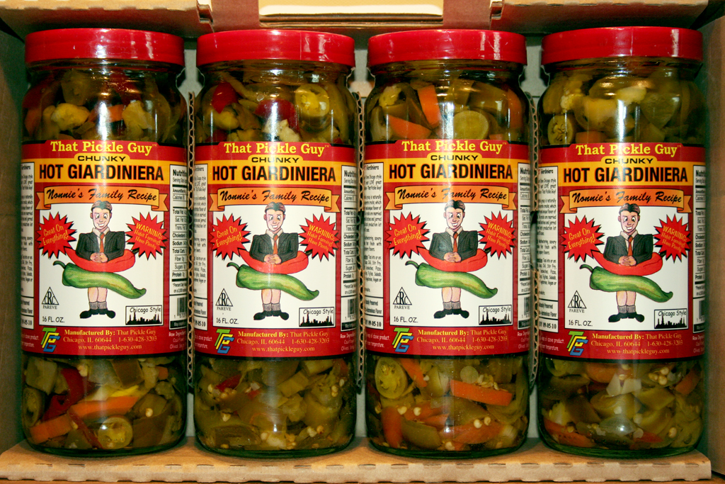... hot giardiniera pickled hot giardiniera pickled 3 potbelly hot peppers