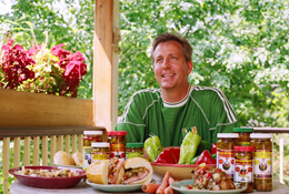 "Greg Frederick, owner of ""That Pickle Guy"" food products."