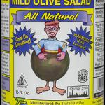 Mild Olive Salad