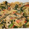 Olive Muffaletta Chicken Pasta